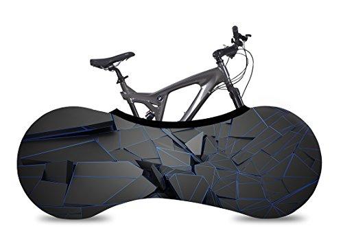 Velo Sock Funda Cubre Bicicletas para Interiores – 2018 Collection – La Mejor solución para Mantener los Suelos y Las Paredes Libres DE Suciedad – Sirve para el 99% de Las Bicicletas para Adul