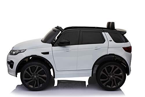 RC Auto kaufen Kinderauto Bild 3: Original Land Rover Discovery Sport Kinderauto Kinderfahrzeug Elektroauto (Weiss)*