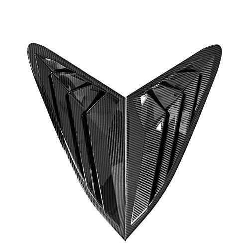 TPHJRM Auto Heckscheibe Dreieck Jalousien Dekoration, für Kia Optima K5 2021 2020