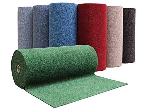 Tapis Gazon Artificiel GREEN - Vert 1,33m x 4,00m Tapis Type Gazon Synthétique au mètre | Moquette d'extérieur pour Balcon, Terrasse, Jardin