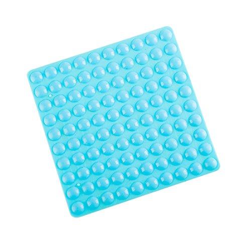 flyshop 200Stück Rund klein blau selbstklebend Softclose Schrank Möbel Stoßstangen
