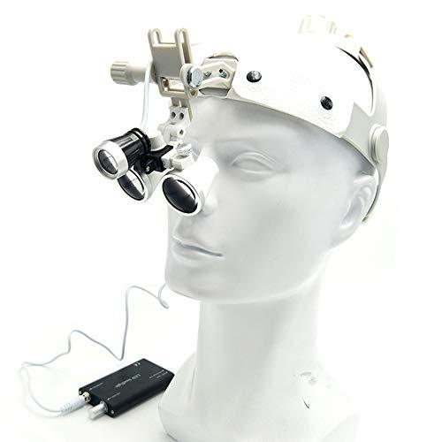 IJNUHB chirurgische tandheelkunde verrekijker Loupe optische draagbare chirurgie Headset vergrootglas 3.5X Vergroting 420Mm werkafstand