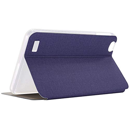 Kamenda Funda de Cuero PU de Tableta para Teclast P80 P80X P80H Funda con Tapa Anticaída para Tableta de 8 Pulgadas Soporte para Tableta (Azul)