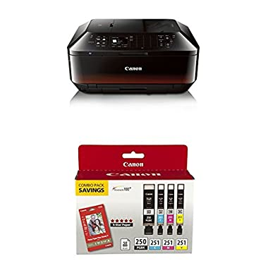 Canon Office and Business MX922 All-in-one Printer with PG-250/CLI-251 Combo Pack