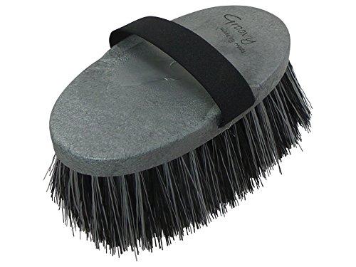 Haas wurzelkardätsch en color gris-negro La superbeliebte Cepillo en caballo y