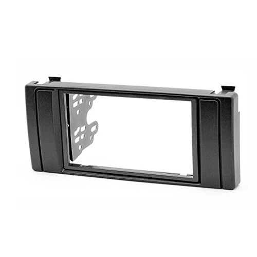 carav 11-041 Doppel DIN Radio Dash Installation Kit für 5er (E39); X5 (E53) Radioblende Fascia Plate