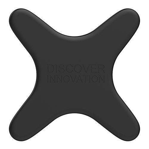 Nillkin Magnet Plate for Car Magnetic Wireless Charger, Magnet Plate Mit Liquid Silikon Skin Auto-magnetisches drahtloses Ladegerät (Schwarz)