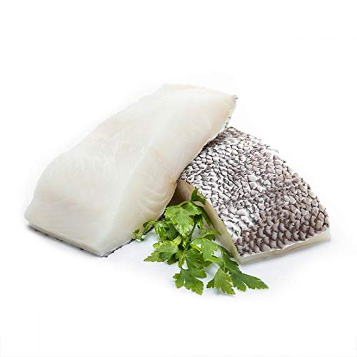 New York's Delicacy Chilean Sea Bass Fillets - 2 x 8 oz (1.0 lb) - Skinless, Individually Vacuum Packed, Ready to Cook - 100% Natural, Wild Caught from the Chilean Patagonia