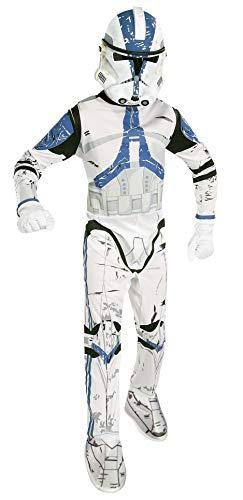 Star - Disfraz Wars Trooper para niño, talla S (3-4 años) (VZ-1536)