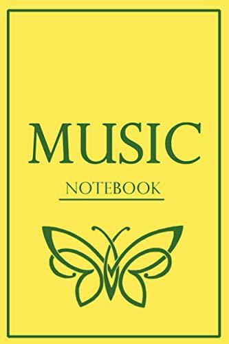Music Notebook- Carnet de musique: - Pages de partitions a remplir -
