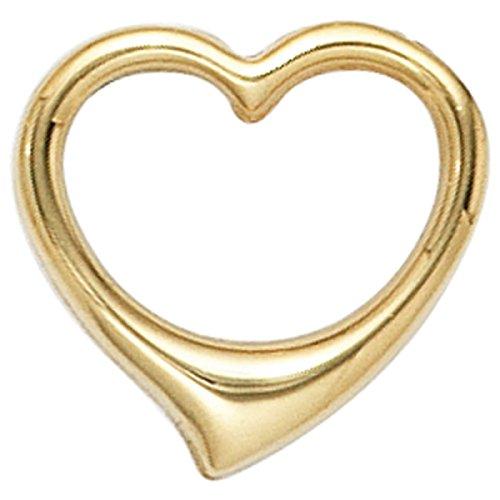 JOBO Anhänger Herz 585 Gold Gelbgold