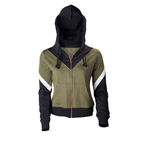 The Legend of Zelda Link Kostüm Kapuzenpullover Hoodie Jacke Damen Herren Unisex Kleidung Kapuzenjacke mit Reißverschluß S