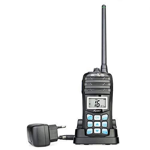 Retevis RT55 Walkie Talkie Marino IP67, 88 Canales, Radio Po