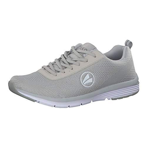 JAKO Unisex-Erwachsene Freizeitschuh Striker Sneaker, Grau (Hellgrau), 37 EU