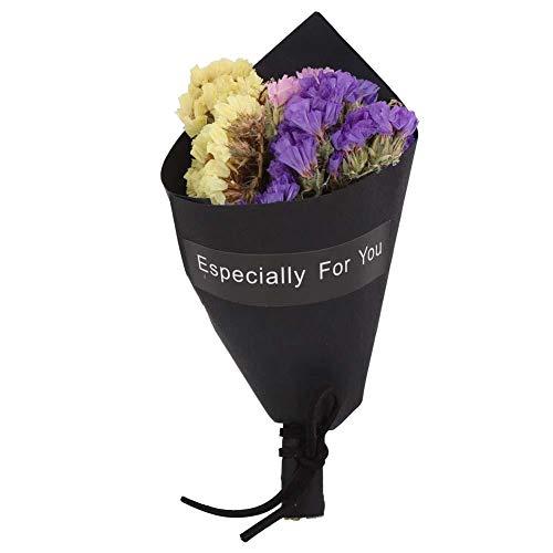 Duokon Flores secas Naturales, Mini Ramo, Flores, decoración de la Fi