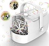 Product Image of the Bubble Machine Durable Automatic Bubble Blower, 4800+ Bubbles Per Minute Bubbles...