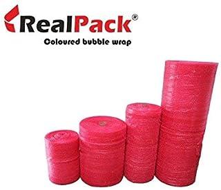 Realpack Luftpolsterfolie, antistatisch, 500 mm x 10 m, Rot