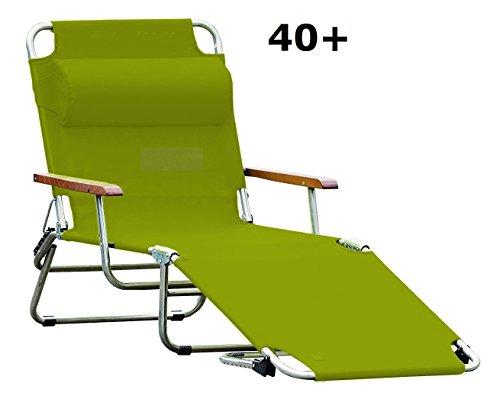 jan kurtz, amigo 40+ mit armlehnen, pistazie, sonnenliege, fiam, design Francesco Favagrossa, Gartenliege, Sonnenliege, Pool,