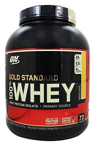 Optimum Nutrition 100% Whey Gold Standard, 2270 g, Banane