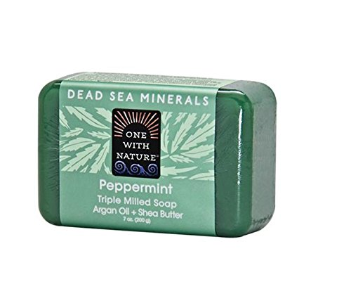 One With Nature Soap, Peppermint, 7 Ounce (Pack of 36) by NATURE'S BEST