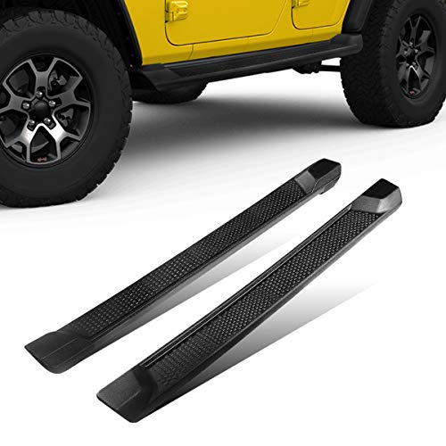AUTOSAVER88 6 inches Running Boards Nerf Bars Side Steps Compatible with 2018-2021 Jeep Wrangler JL Unlimited 4 Door (Excl. JK Model)