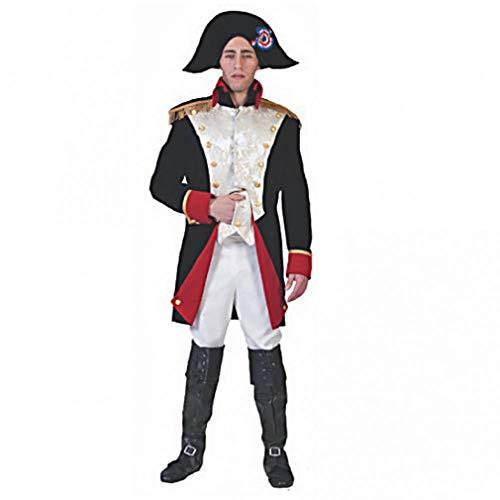 Disfraz Napoleon Hombre General Kaiser Francia eroberer Carnaval pierro