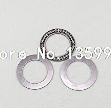 Laliva (1) 40 x 60 x 3mm AXK4060 Thrust Needle Roller Bearing Each With Two Washers