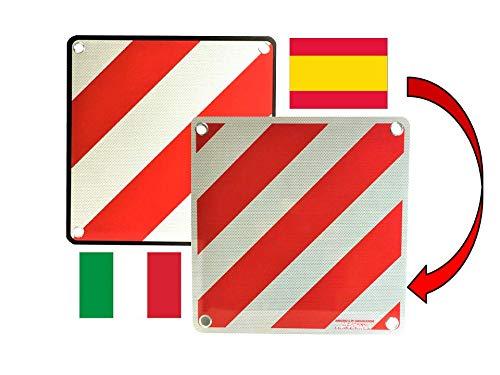 IWH Vertriebs GmbH WARNTAFEL 2IN1 FÜR Italien & Spanien AUS Aluminium