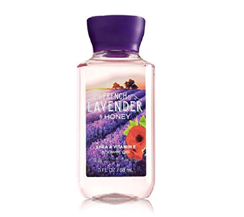 静かに予測たらいバス&ボディワークス フレンチラベンダー&ハニー ボディソープ French Lavender & honey トラベルサイズ [並行輸入品]