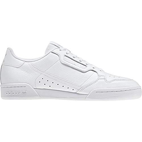 Adidas Continental 80, Zapatillas de Deporte para Niños, Blanco (Ftwbla/Ftwbla/Griuno 000), 38 EU