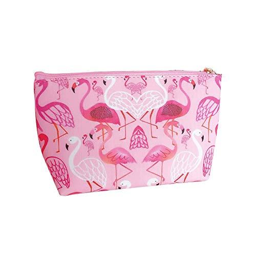 Monbedos Cute Trousse de toilette de voyage Trousse de toilette de voyage Beauté Sac , Cash Porte-monnaie Sac rose rose
