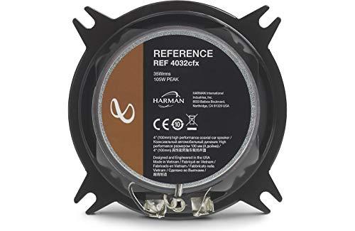 Infinity Reference REF-4032CFX 4' 2-way Car Speakers - Pair
