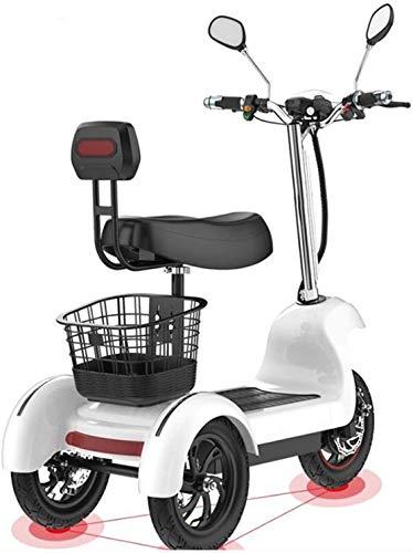 Xiaokang Pequeño Triciclo eléctrico Traslado Inicio Scooter para niños Adulto Mayor Doble...