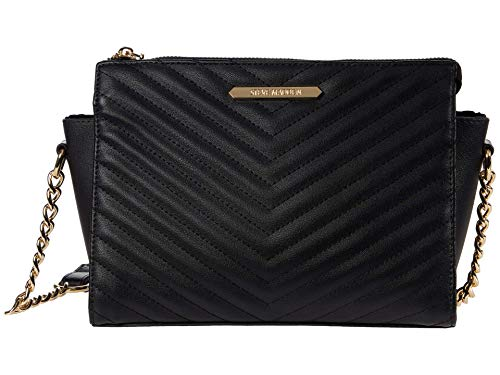 Steve Madden Blexi Chevron Quilted Crossbody Black One Size