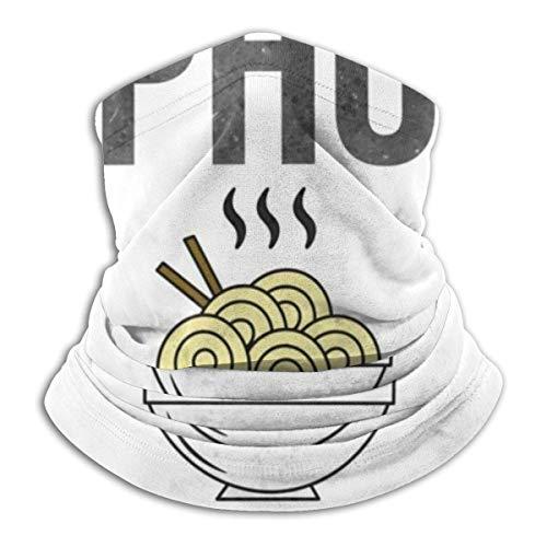 Lzz-Shop Multifunktionstuch Bandanas Schal,Schlauchtuch,Kopftuch,Stirnband,Tuch Halsschlauch Lustige Pho SHO Nudeln
