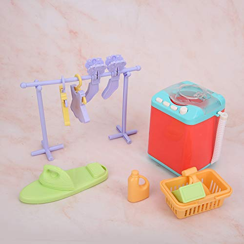 Crisis Light Up Waschmaschine Spielzeug, Waschmaschine Spielzeug, Exquisite Verarbeitung Sound Interessant Hoch Simulation für Kinder(Washing Machine)