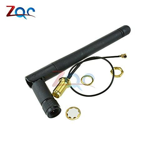 2,4 G drahtlose SMA-Antennen VerlängerungsKabel 3DBI Gain Antenne für ESP8266 ESP-02/ESP-05/ESP-07 NRF24L01 + PA CC2500 Modul