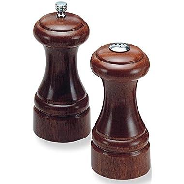 Olde Thompson 5.25  Statesman Wood Pepper Mill and Salt Shaker Set