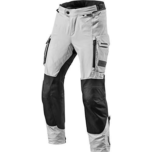 REV'IT! Motorradhose Offtrack Textilhose schwarz/Silber L, Herren, Enduro/Adventure, Ganzjährig
