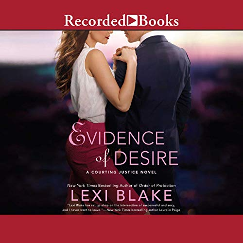 Evidence of Desire audiobook cover art