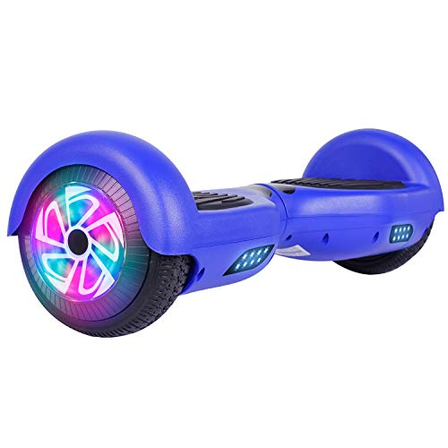 "Felimoda Hoverboard with Bluetooth, 6.5"" LED Light Wheel Self Balancing..."
