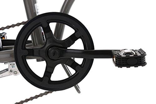 KS Cycling Erwachsene Faltrad 20'' Cityfold grau RH 27 cm Fahrrad, 20 - 2
