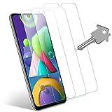 Wonantorna Pellicola Protettiva per Samsung Galaxy M21/M31 Vetro Temperato, [3 Pezzi] [9H Durezza] [Alta Definizione] [No Bolle] [Installazione Facile] Pellicola Vetro per Samsung Galaxy M21/M31