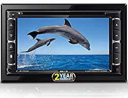 iBELL FV9362D Car 2 Din Multimedia Double Din Video Player, 6.2'' Touch Screen|Bluetooth|DVD|CD|MP3|USD|SD|Bluetooth|4*25 Watts,i BELL
