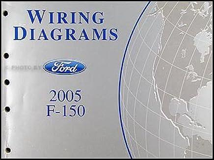 2005 ford f-150 wiring diagram manual original paperback – 2005