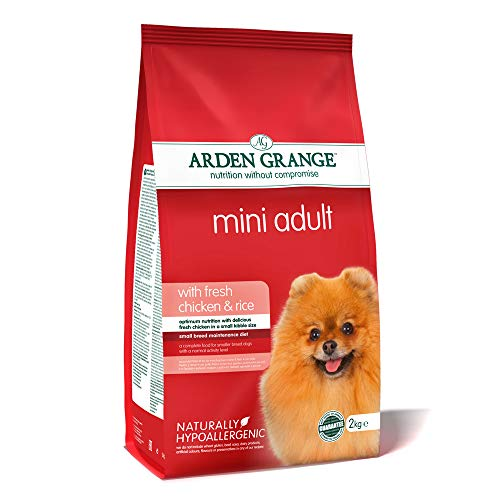 Arden Grange Mini Adulto Pollo y Arroz - 2 Kg ✅