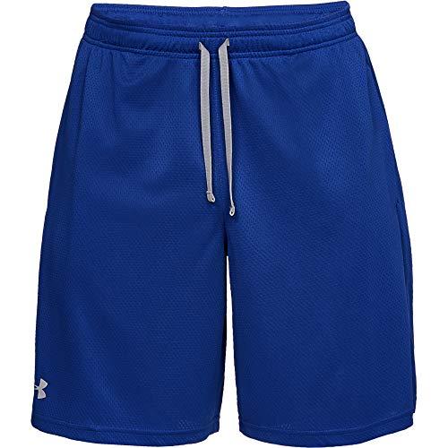Under Armour Tech Mesh Shorts Pantalones Cortos, Royal/Steel (400), L Tall para Hombre