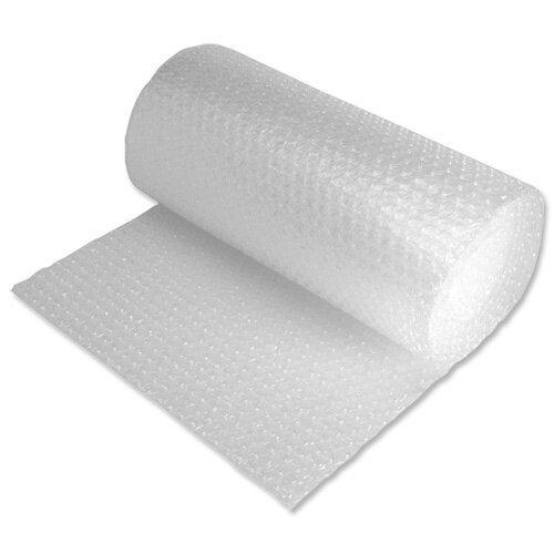 CASAIMABO-Rollo de plástico de burbuja, Ancho 50cm x 40 Metros,transparente (PACK X1)