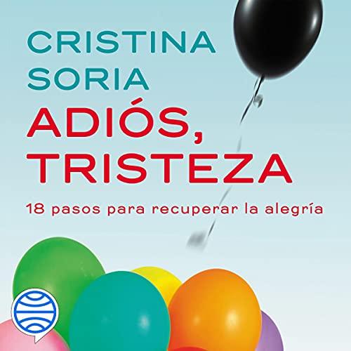 Diseño de la portada del título Adiós, tristeza