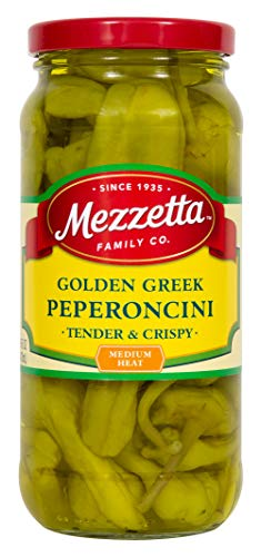 Mezzetta Golden Greek Peperoncini, Whole, 16 Ounce